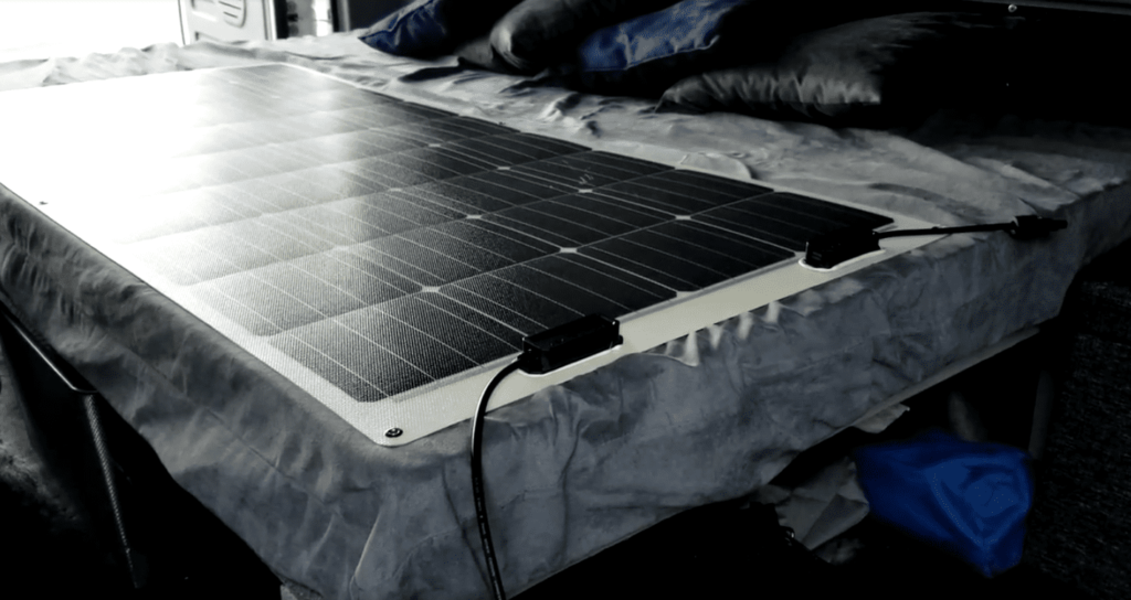 Bug out vehicle solar panel