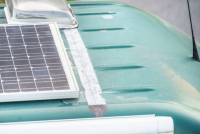Solar Panels Survival Van