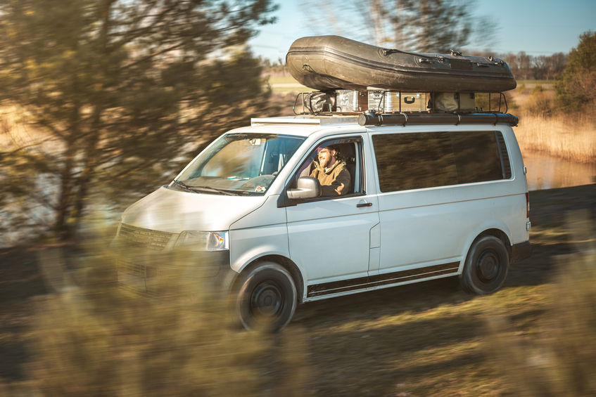 Bug out vehicle roof rack
