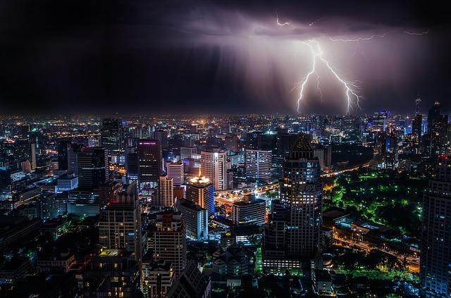 EMP Lightning strike