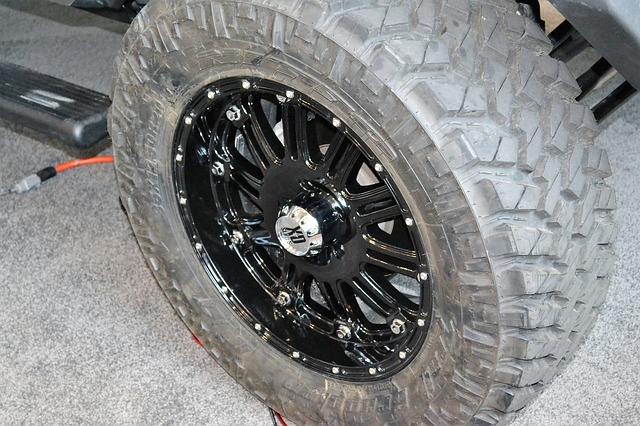 Off road tires are a must have survival vehicle accessory